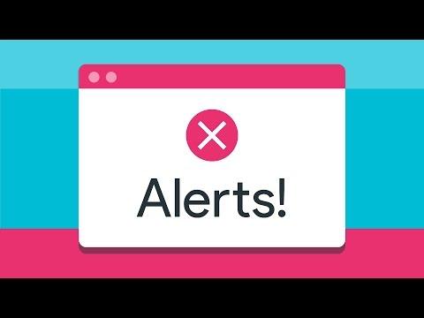 Alerts! -- A11ycasts #10