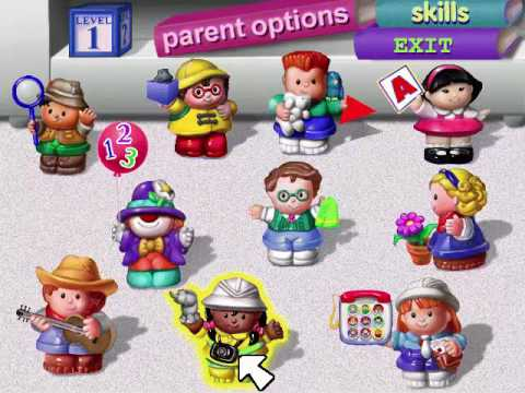 Fisher-Price Ready For School Toddler Full Playthrough
