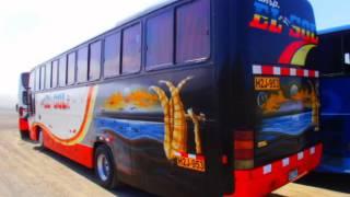 Transportes EL SOL s.a. nueva flota TRUJILLO - CHIMBOTE