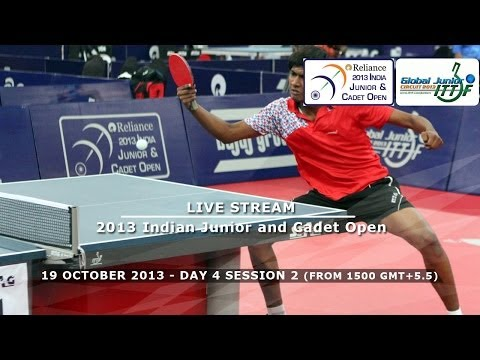 Reliance 2013 Indian Junior & Cadet Open - Day 4 Afternoon Session