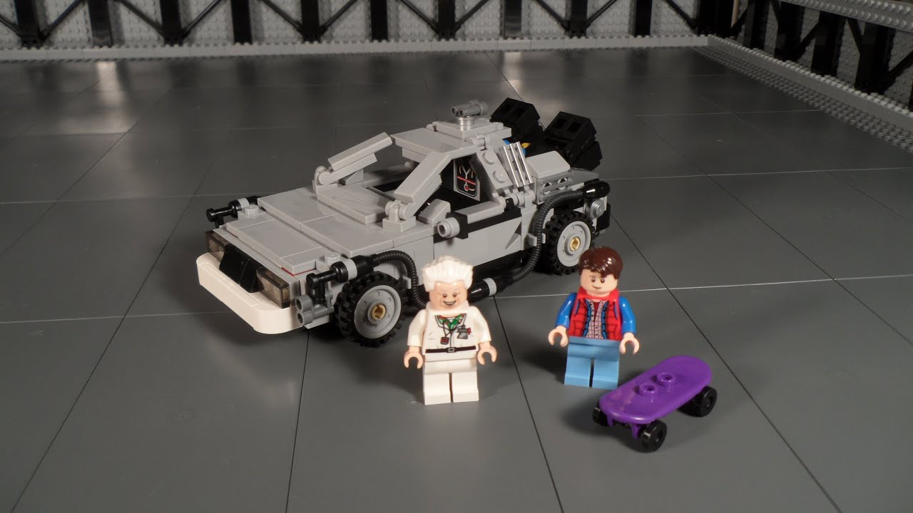 Lego 21103 The Delorean Time Machine Review Back To The