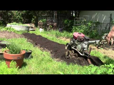 How to improve clay soils for gardening.
