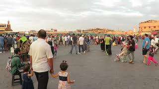 Another View of Djemaa el Fna Square, Marrakech, Morocco