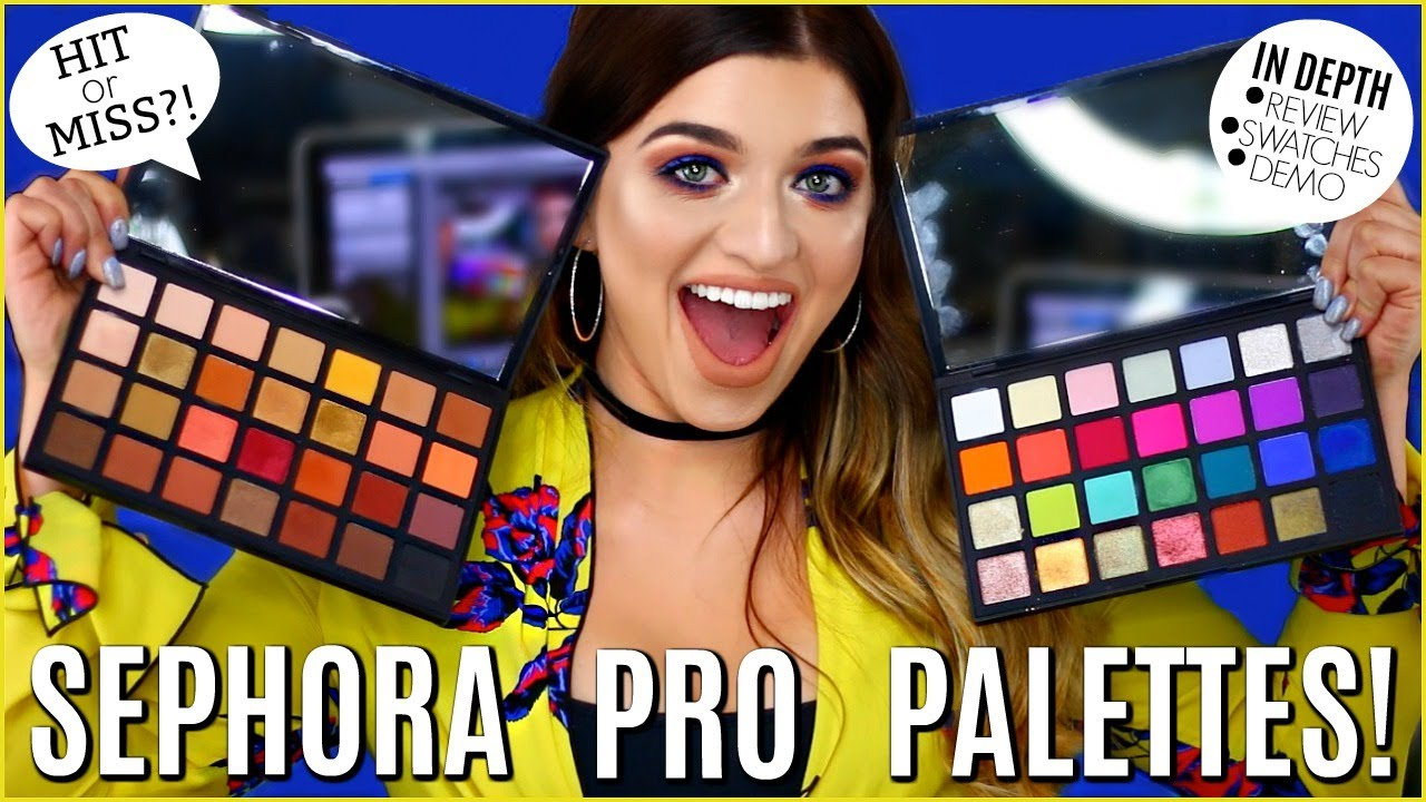NEW SEPHORA PRO PALETTE | First Impressions, Review, & Demo!