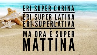 Super Martina - Lorenzo Fragola feat Gazzelle (testo / lyric video)