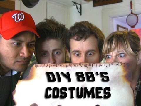 80's Halloween Costumes: Goonies, Teen Wolf, Marty McFly, Top Gun and Lloyd Dobbler