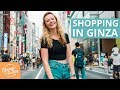 SHOPPING IN GINZA - PEDESTRIAN PARADISE IN TOKYO JAPAN, UNIQLO, ITOYA & LUXURY SHOPS 銀座