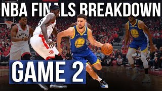 Warriors Force Raptors Box & 1?! | NBA Finals Game 2 Breakdown