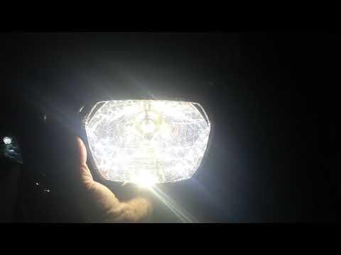 Gắn đèn Led Cos Vàng Pha Trắng Cho Khách