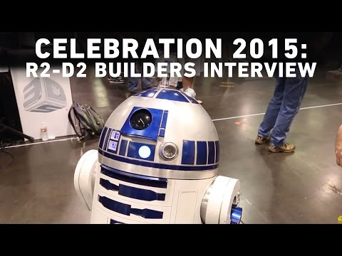 The R2-D2 Builders Club Interview with StarWars.com | Star Wars Celebration Anaheim