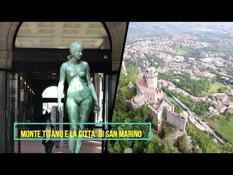 Monte Titano e la città di San Marino HD