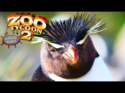 Pinguim Saltador, Abrindo Parque Aquático! | Zoo Tycoon 2: Marine Mania (#1) (Gameplay/PT-BR)