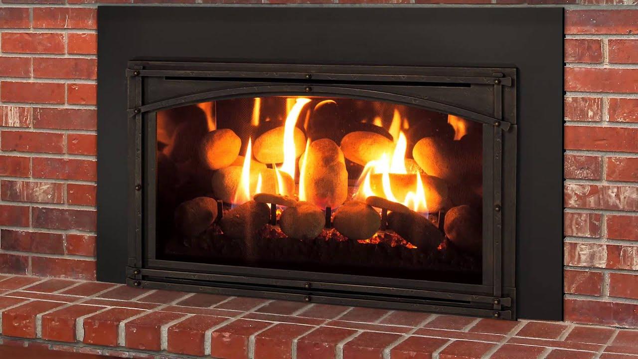 Kozy Heat Chaska 29 Rock Fireplace
