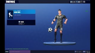 NEW FORTNITE EMOTE (KICK UPS) WITH BRAND NEW SOCCER SKIN | Fortnite Battle Royale Season 4