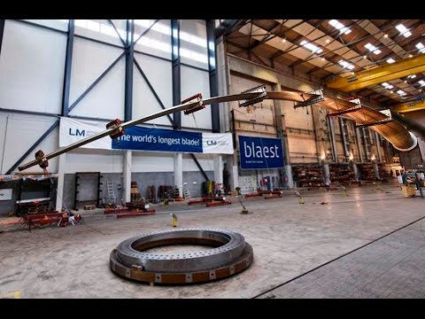 World's longest wind turbine blade is put to the test