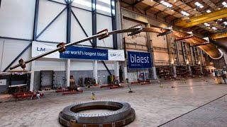 World's longest wind turbine blade is put to the test