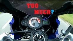 Yamaha TZR 50 -  Acceleration & TopSpeed [Test] (2015 Edition)