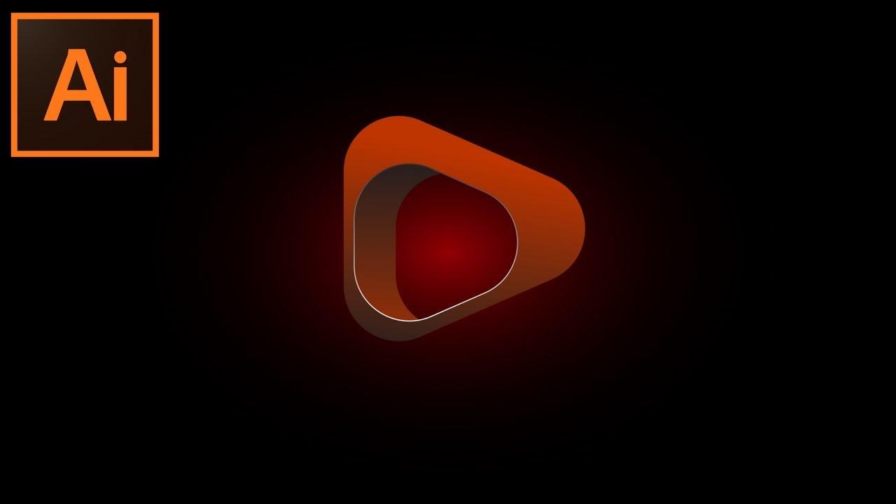 Adobe Illustrator CC   3d Looking Logo Design
