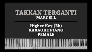 Download lagu Takkan Terganti (FEMALE KARAOKE PIANO COVER) Marcell