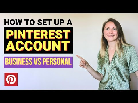 Pinterest Sign Up Tutorial: Pinterest Account Creation for Business vs  Personal Use (2019)