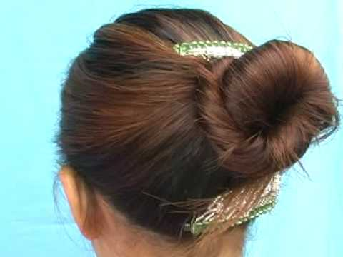 How to use the Korean Elastic Hair Comb for Hair Styling!
