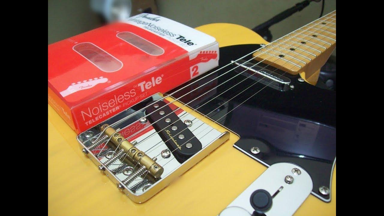 Fender Vintage Noiseless Telecaster  by Júnior Ferreira  YouTube