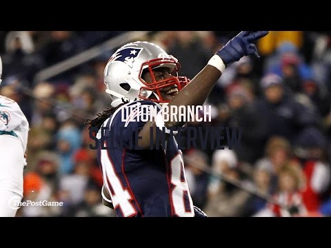 Deion Branch Reveals Passion for The Ultimate Warrior