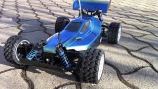 """New built 1/10 scale 4WD rc-car """"Plasma Edge"""" (DF-02) by Tamiya, tu..."""