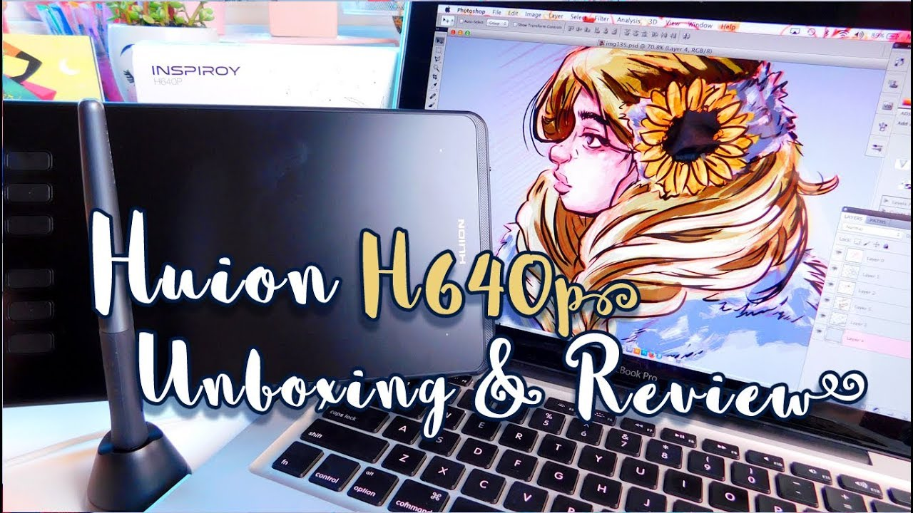 Tablet Unboxing Review Huion H640p A Great Tablet For Beginners
