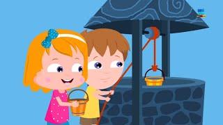 Jack und Jill | Kinderzimmer Lied | Reime für Kinder | Rhymes Song | Kids Poetry | Jack and Jill