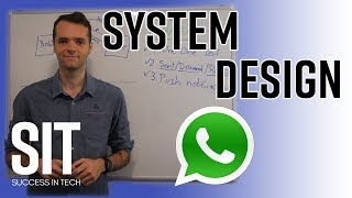 System Design Messenger service like Whatsapp or WeChat Interview Question