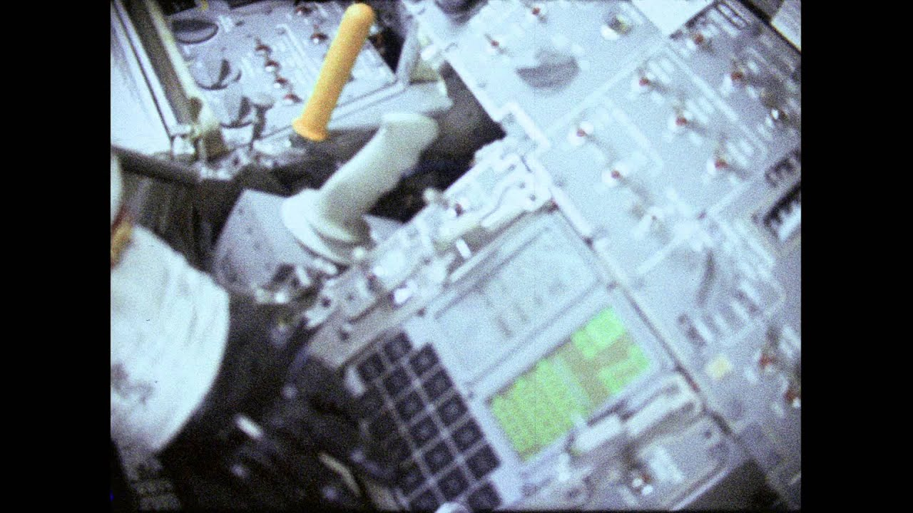 Apollo 10 Home Movies, on board the lunar module (with added sound)