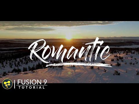 Text Animation in Fusion | Brush Stroke Effect | BlackMagic Fusion 9 Tutorial