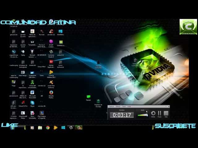 nvidia windows 7 theme