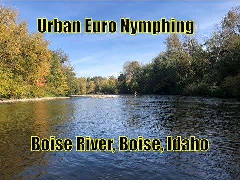 Urban Euro Nymphing Boise River, Idaho