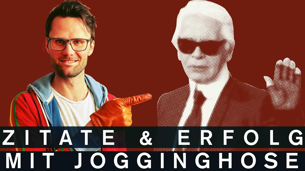 Karl Lagerfeld Zitate Helfen Dir Besser Zu Singen Glaubst Dus