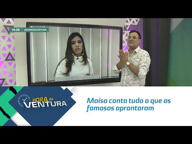 Maísa conta tudo o que os famosos aprontaram nas redes sociais - Bloco 02