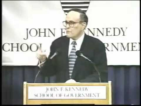 Giuliani defends NYC Sanctuary City Policy  in 1996