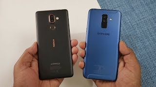 Samsung Galaxy A6+ vs Nokia 7 Plus Speed Test !