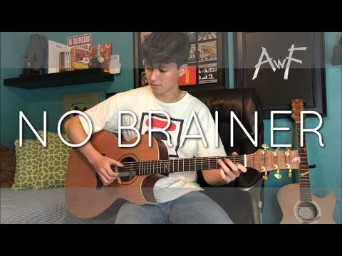 No Brainer - DJ Khaled ft. Justin Bieber, Chance the Rapper, Quavo - Cover (fingerstyle guitar)