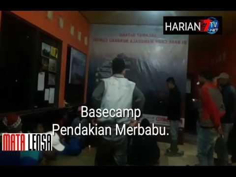 Suasana Di Basecamp Cuntel, Dua Pendaki asal Salatiga di Kabarkan hilang
