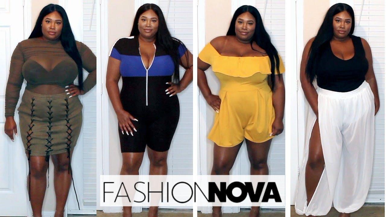 Fashion Nova Curve Try On Haul I Am Obsessed F F  D