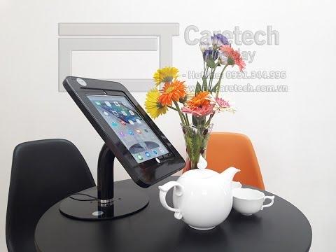 Tablet Display Stand on the desk X2201 FSB black - Caretech Vietnam