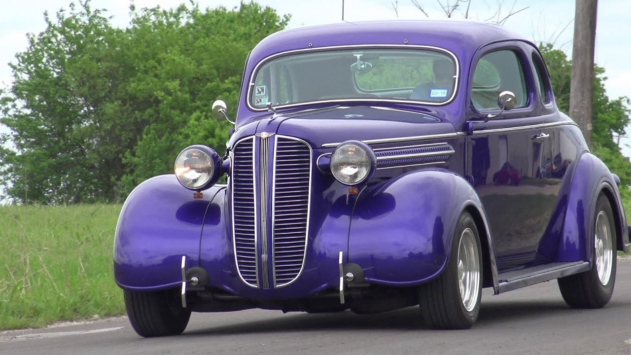 Plum Crazy 1937 Dodge Brothers Coupe Steel Hot Rod Texas