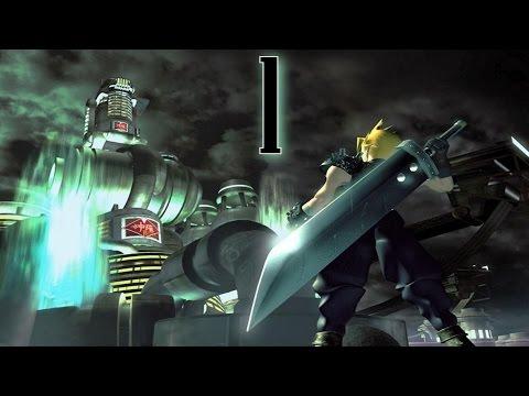Final Fantasy VII (PS1 1997) ITA #1 Benvenuti a Midgar