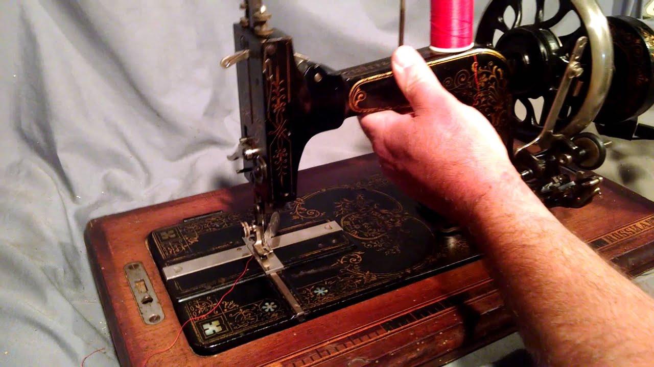 Rossmann Hand Crank Sewing