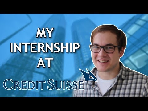 How I Got My Placement at Credit Suisse! Top Three Tips!