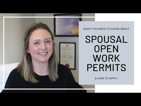 Spousal Open Work Permit Application | Canada 2020