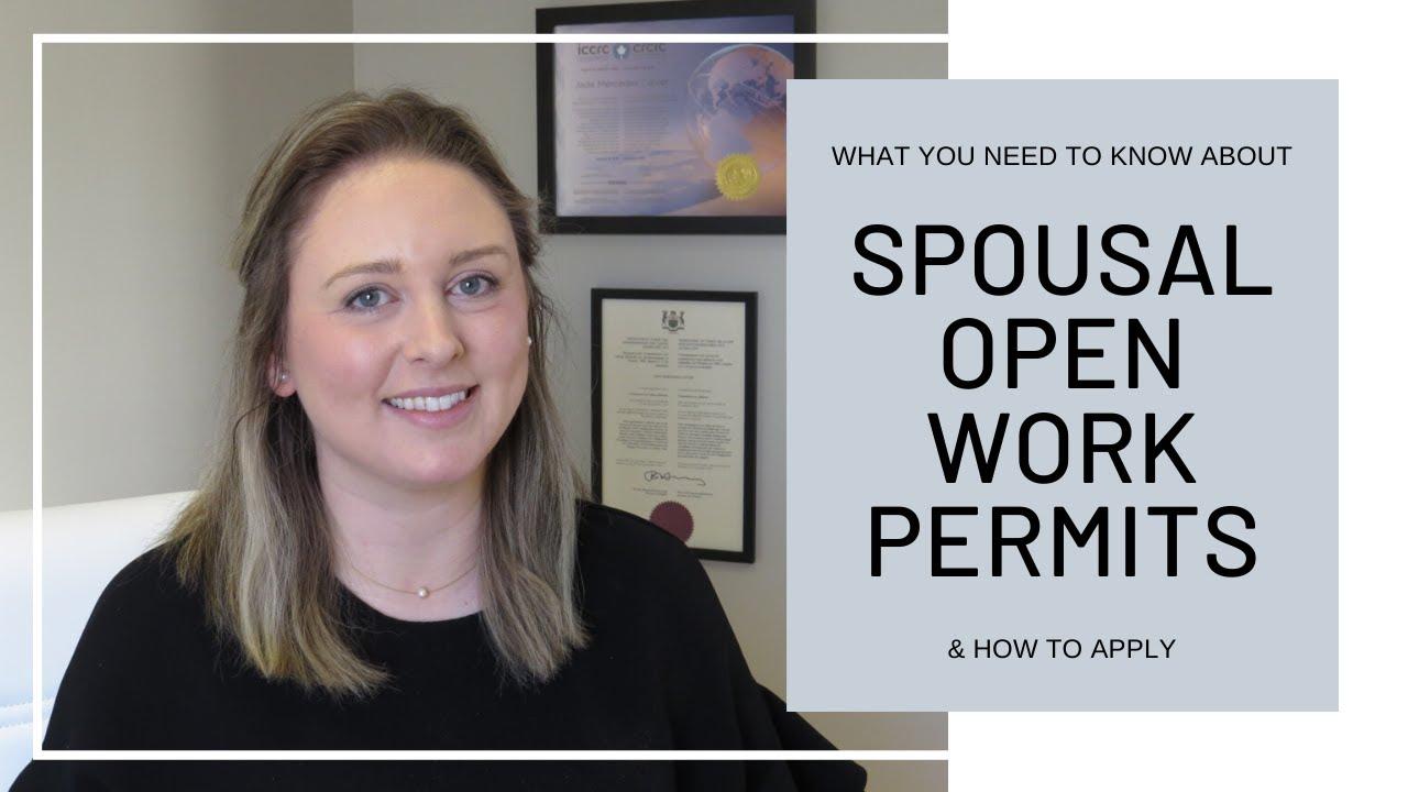 Spousal Open Work Permit Application