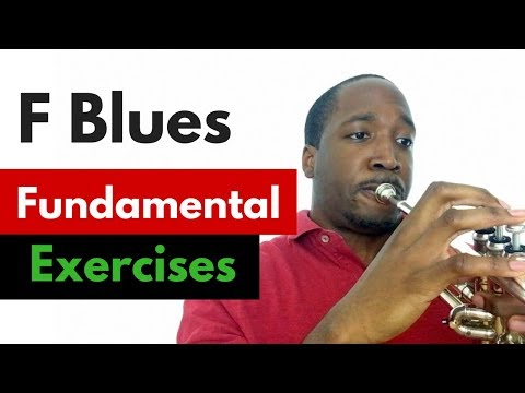Practicing the F Blues | Jazz Trumpet Lesson